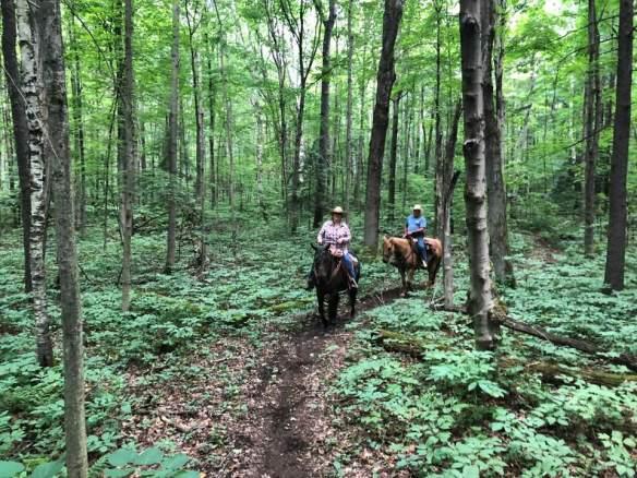 Ontario - riding with Susie